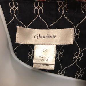 CJ Banks Jackets & Coats - CJ Banks sleeveless Quilted Vest